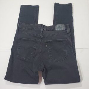 Levis Jeans Size 30 Womens Black High Rise Skinny